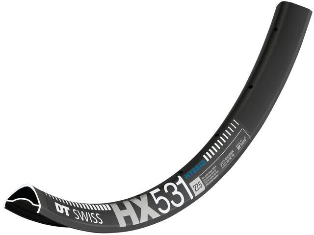 "DT Swiss HX 531 Hybrid Felge 27,5"" schwarz"